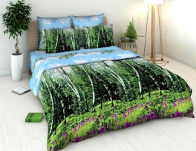 «Березки» 2-х спальный комплект постельного белья
