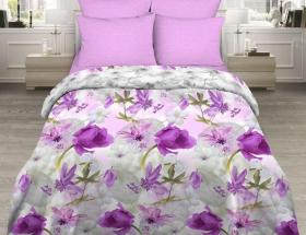 «Лиловая дымка» семейный комплект постельного белья
