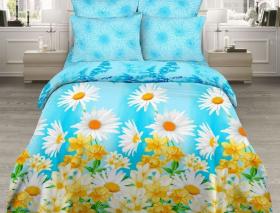 «Чистая лазурь» Семейный комплект постельного белья