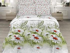 «Божьи коровки» 1.5 спальный комплект постельного белья