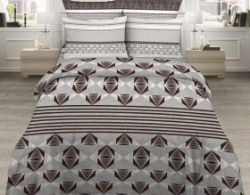 «Кофейный аромат» Семейный комплект постельного белья