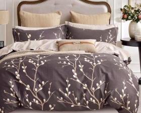 1.5 спальный комплект постельного белья «15CAND001»