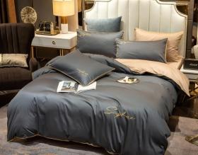 1.5 спальный комплект постельного белья «15MEG015»