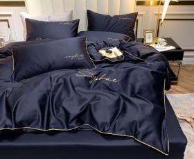 1.5 спальный комплект постельного белья «15MEG009»